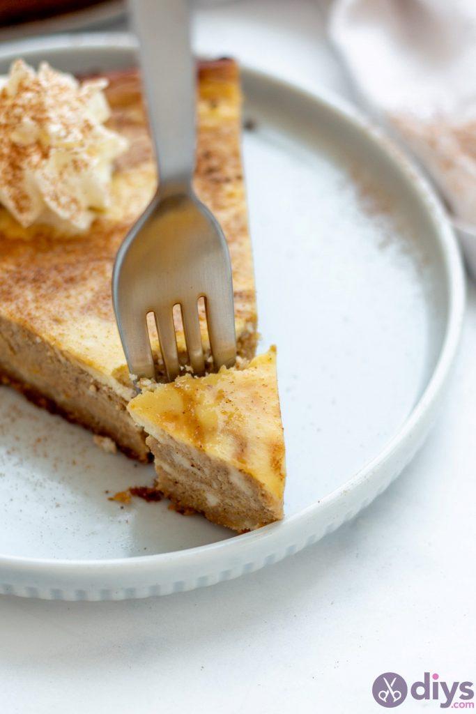 Keto pumpkin cheesecake swirl 23