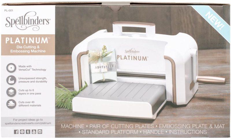 Spellbinders pl 001 platinum cut & emboss machine,