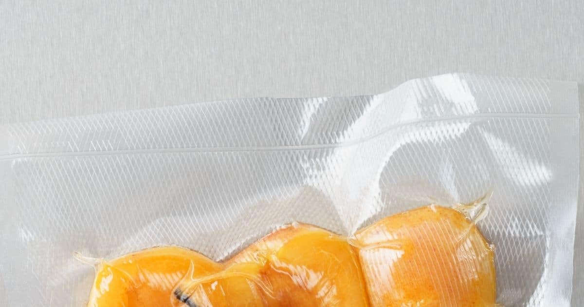 Potatoes in a vacuumed sealed bag