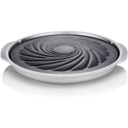 Techef true grill pan stovetop nonstick indoor outdoor smokeless
