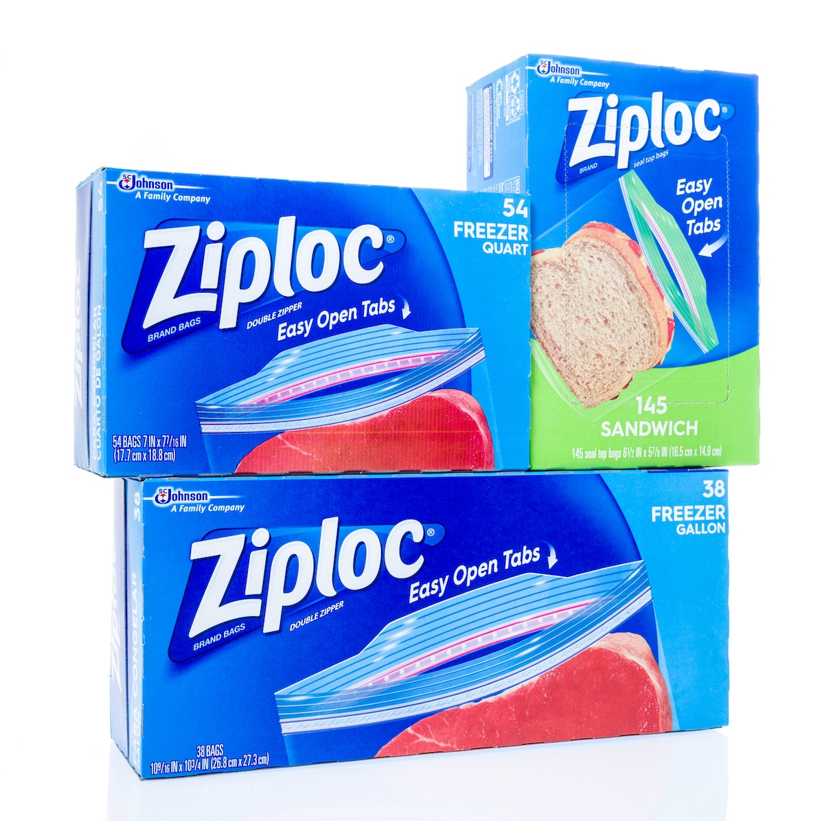 A picture of ziploc bags