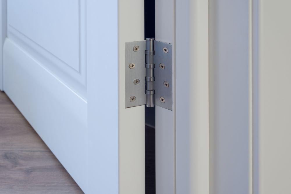 Install door hinges (4)