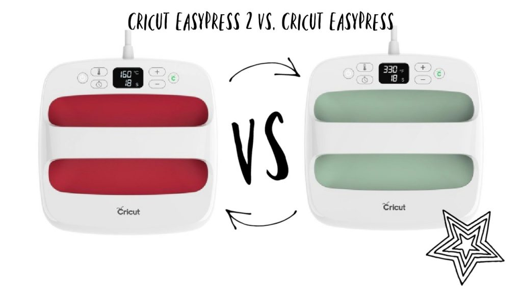 Cricut easypress 2 vs cricut easypress vs