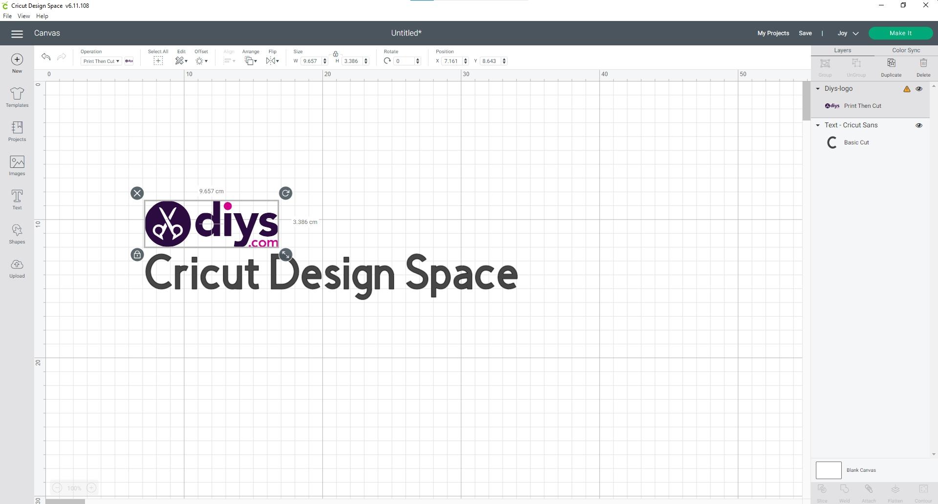 Cricut design software