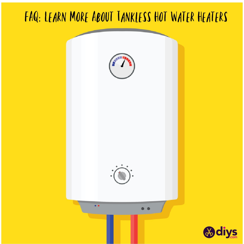 Learn more about tankless hot water heaters