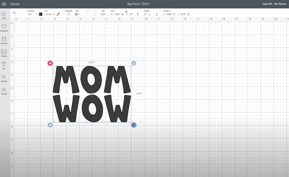 Printed design space
