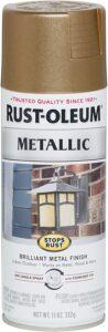 Rust oleum metallic spray paint