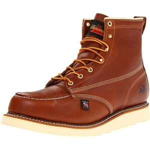 Thorogood men's american heritage 6 moc toe, maxwear wedge safety boot