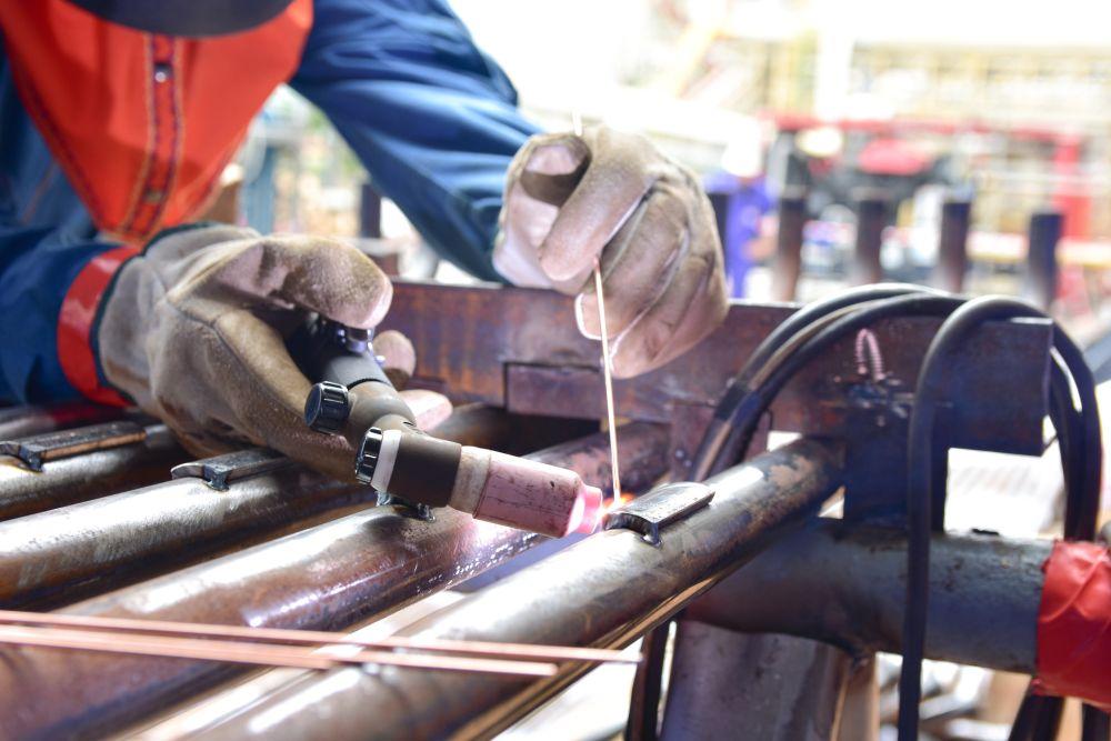 Right welding gloves