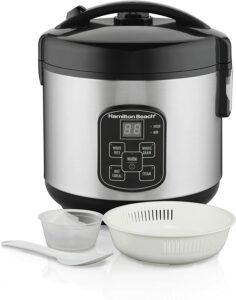 Hamilton beach digital programmable rice cooker