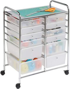 Honey-Can-Do Rolling Storage Cart & Organizer