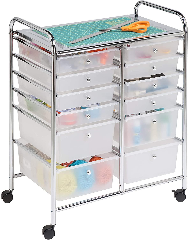 Honey can do rolling storage cart & organizer