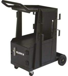 Klutch 2-Tier Welding Cart