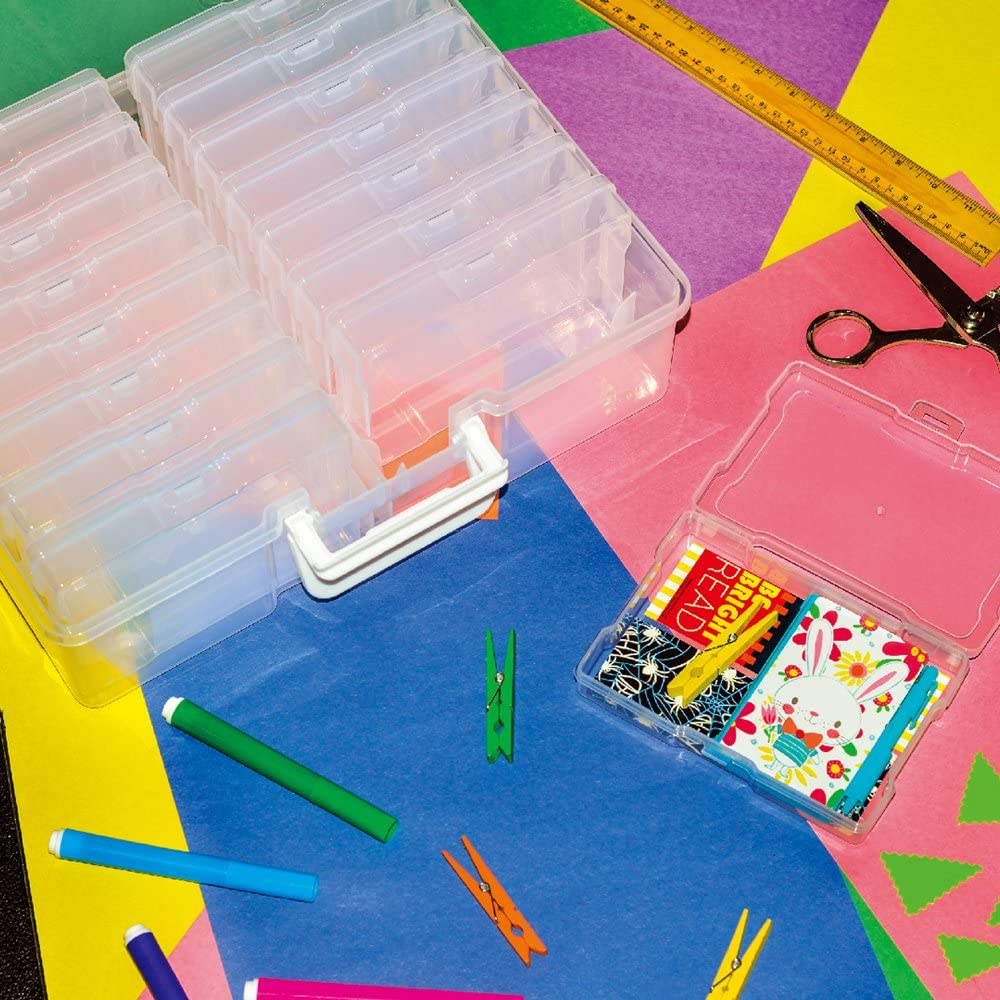 """Novelinks photo case 4"""" x 6"""" & storage box"""