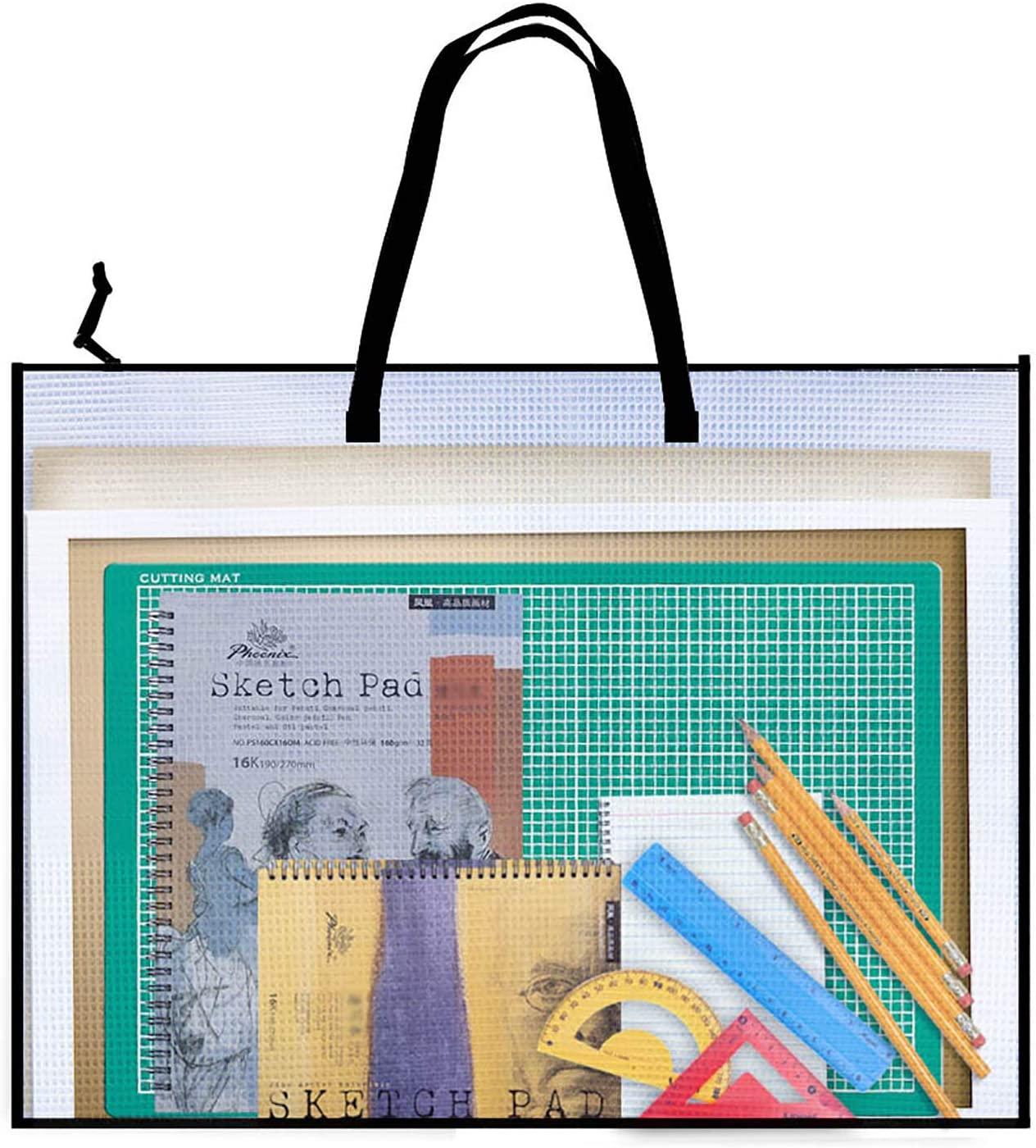 Opret art portfolio bag