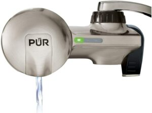 Pur pfm450s faucet water filtration system