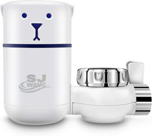 Sj wave water faucet filter system