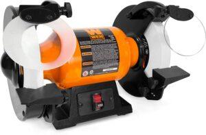 Wen bg4286 8 inch slow speed bench grinder