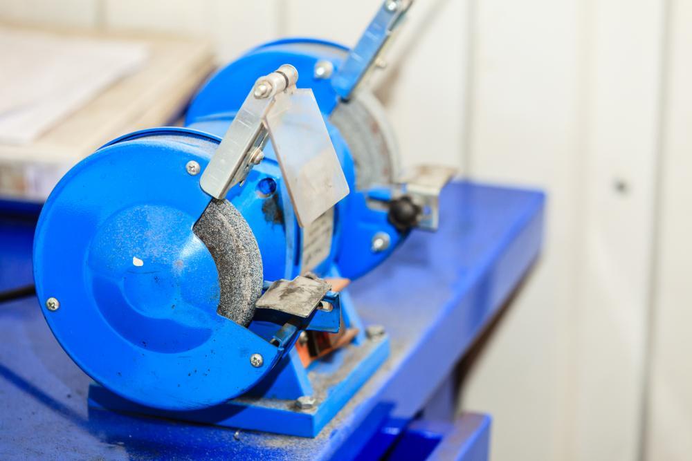 Bench grinder 4