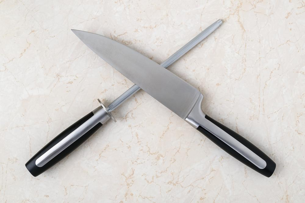 Chef's knife sharpening