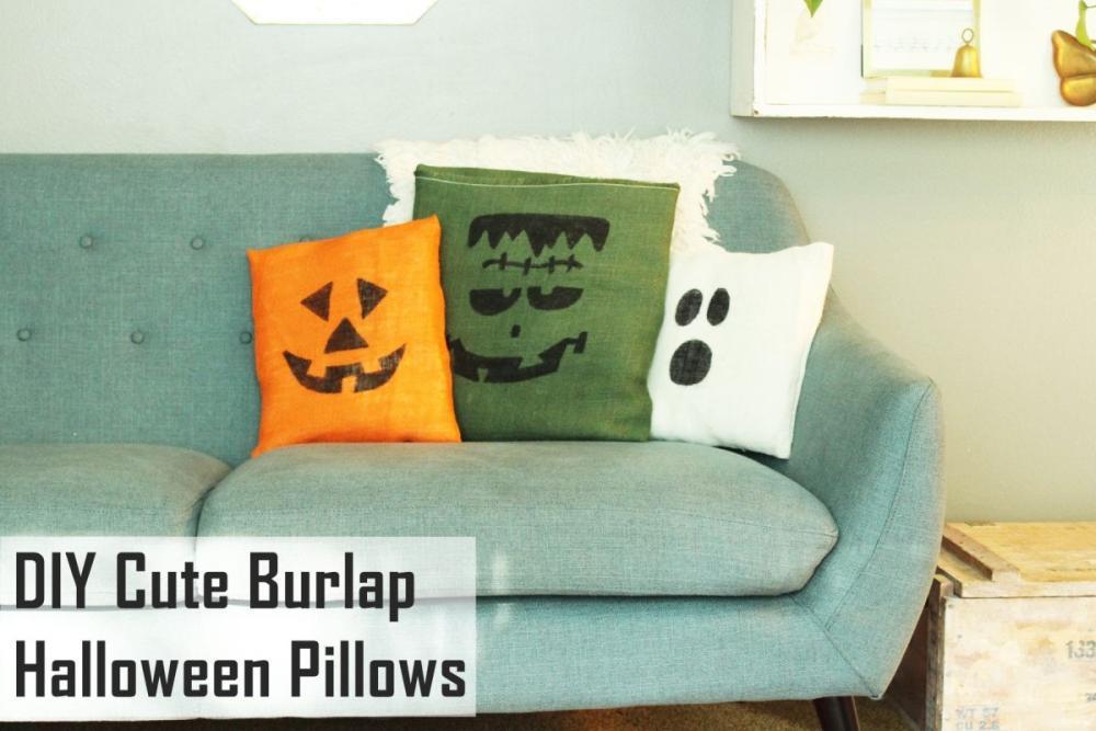 Halloween party decoration ideas halloween pillow casings