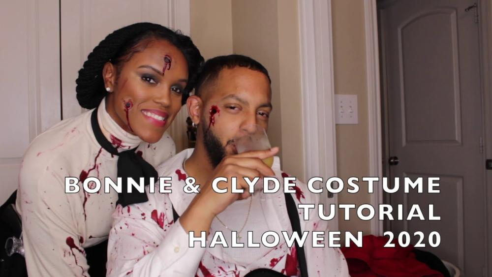 Diy bonnie and clyde costume